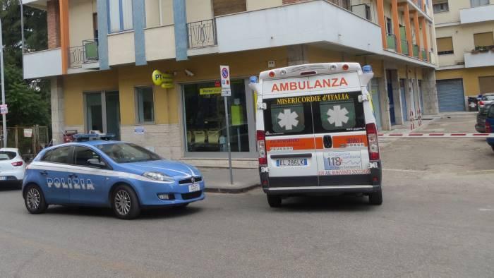 Benevento - Rapina a mano armata nelle Poste di Via dei Rettori