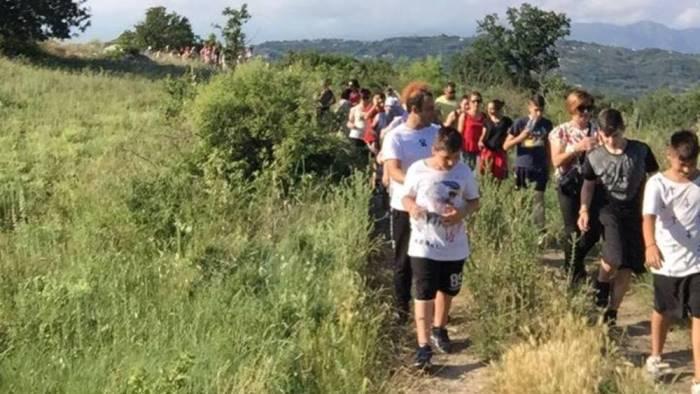un grande successo la passeggiata paesologica a limatola