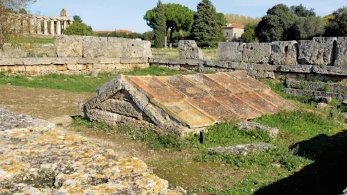 paestum cominciati gli scavi a cura dell universita orientale