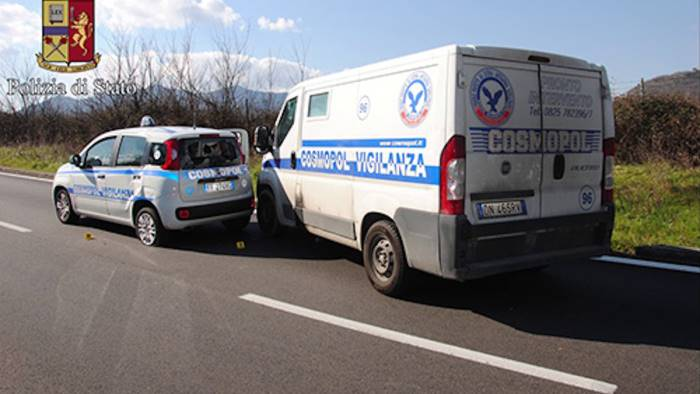 rapine ai furgoni portavalori condannate 9 persone