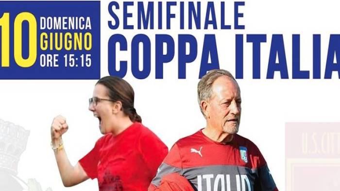 semifinale coppa italia s egidio femminile vs pontedera