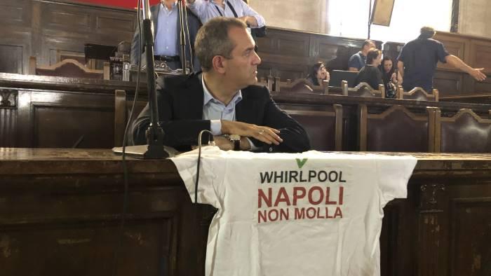 napoli consiglio comunale monotematico sulla whirlpool