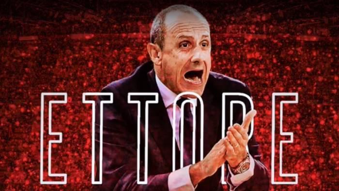 basket ettore messina e il nuovo head coach di milano