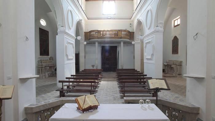 e venne il giorno dell inaugurazione della chiesa ad aversa