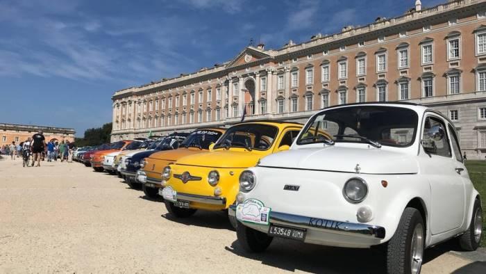 raduno nazionale fiat 500 storiche a caserta