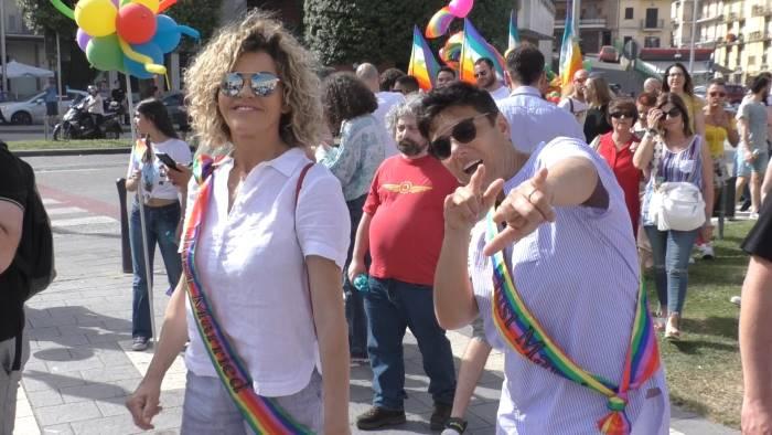 atripalda e i colori arcobaleno del pride irpino foto e video