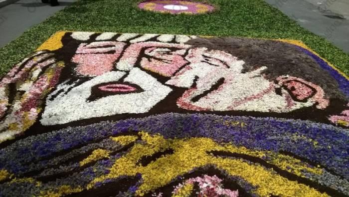 tutti i colori dei fiori per dipingere la grande bellezza