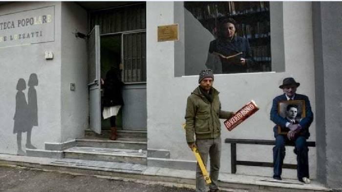 street art gomez nel quartiere de l amica geniale