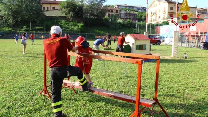 il parco santo spirito e la magia di pompieropoli video