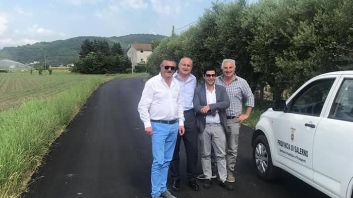 capaccio lavori sulle strade provinciali per 200mila euro