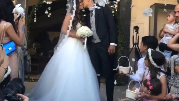 benevento improta si sposa con la sua valentina