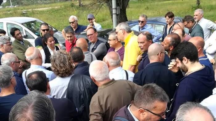 ex sito montefibre m5s giornata importante a roma