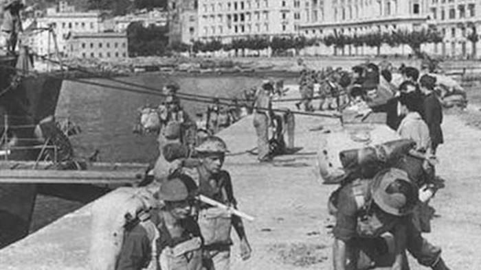 commemorazione per 76 anniversario bombardamento di salerno
