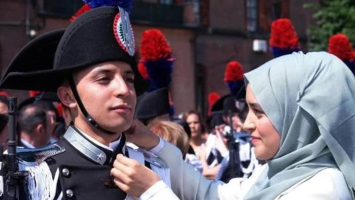 di origine marocchina e musulmano diventa carabiniere