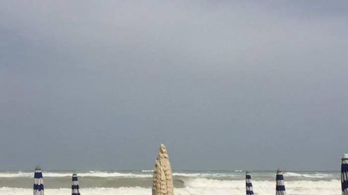 maltempo e mareggiate stato di calamita per il litorale