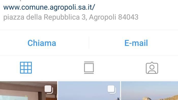 turismo social e il comune si fa un profilo su instagram