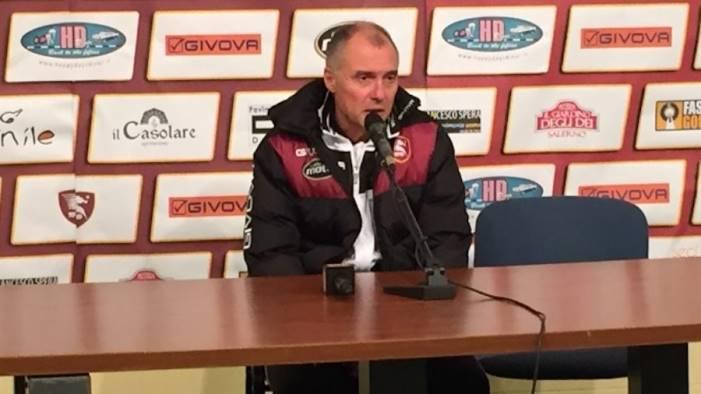 salernitana in campo menichini tiene alta la concentazione