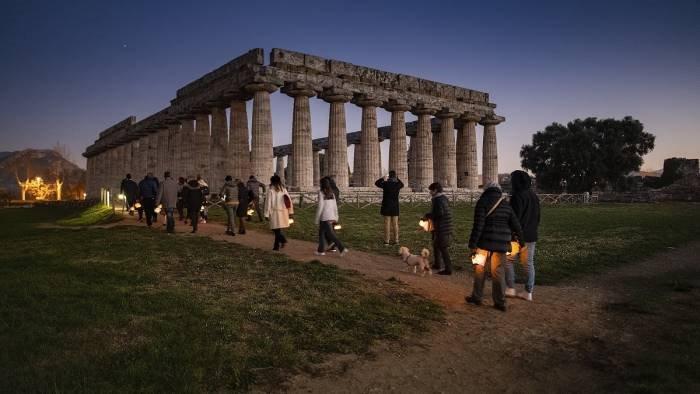 paestum torna la festa della musica al parco archeologico