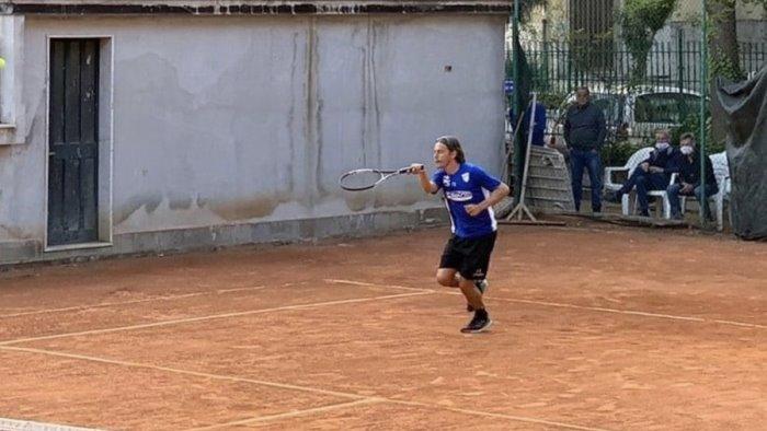 benevento gara di tennis per pippo inzaghi