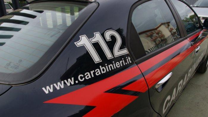 caivano carabinieri sventano un colpo con spaccata