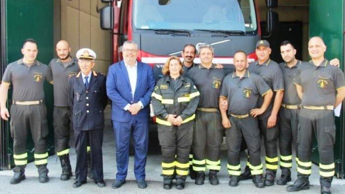 cilento da luglio operativo il distaccamento dei pompieri