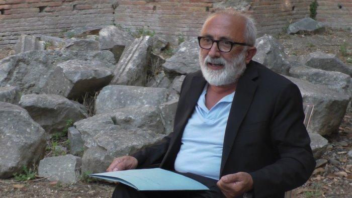 teatro romano venerdi c e il direttore musei campania
