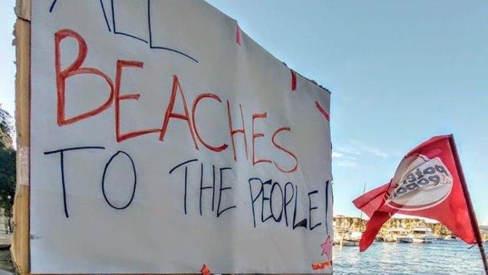 spiagge libere sono gratuite non un un euro in piu