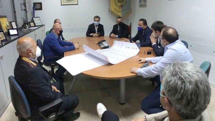 contratto di sviluppo 7 comuni e consorzio idrotermale firmano con di maria