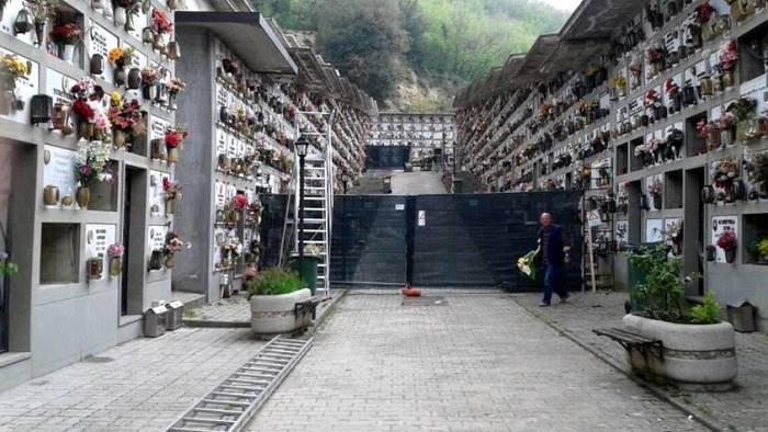 cimitero di telese terme a breve 90 nuovi loculi