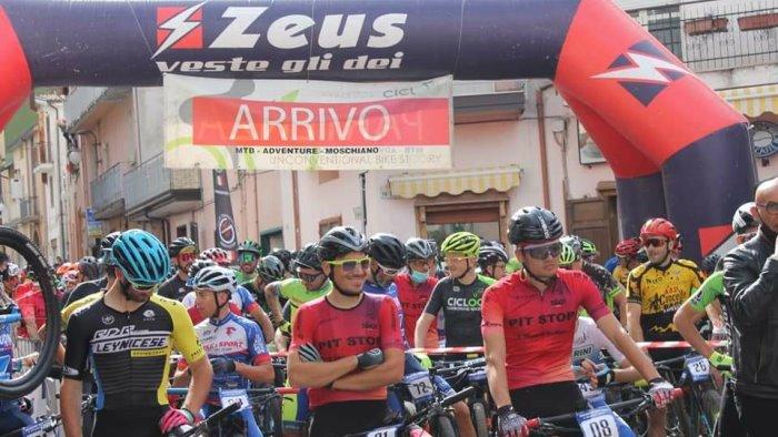 moschiano bike race un successo l apertura del giro della campania off road