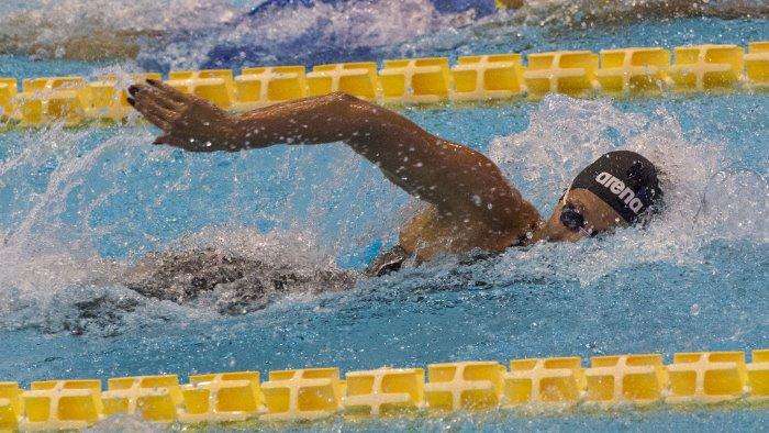 nuoto la isl di napoli sara l ultima gara di federica pellegrini