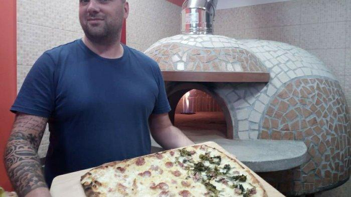 da salerno a bergamo per promuovere pascalina la pizza anti tumore