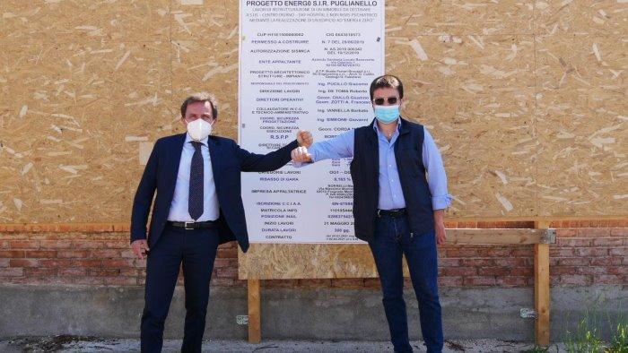 al via lavori della nuova sir di puglianello sara un edificio a energia zero