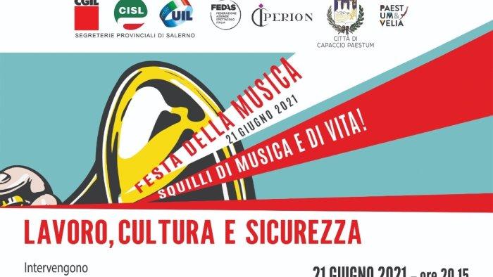 festa della musica al parco archeologico di paestum lavoro cultura e sicurezza