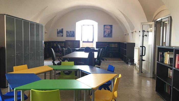 montemiletto inaugurata la biblioteca sandro pertini