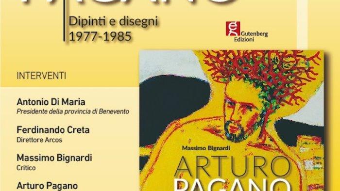 arcos domani si presenta la monografia di massimo bignardi arturo pagano