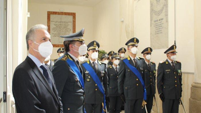 la guardia di finanza ha celebrato il 247 anniversario della fondazione foto