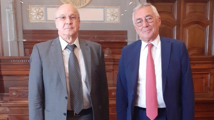 camera di commercio presidente prete incontra ambasciatore d algeria