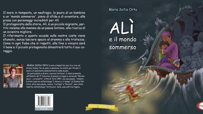 l arianese maria sofia ortu debutta alla festa del libro in mediterraneo