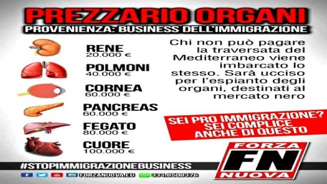 Fermate gli immigrati accrescono il mercato nero di organi - Prezzario camera di commercio ...