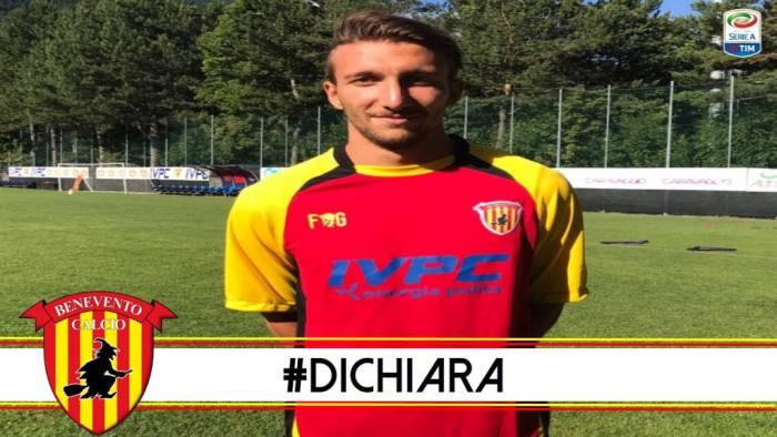 Benevento, contratto quadriennale per Di Chiara