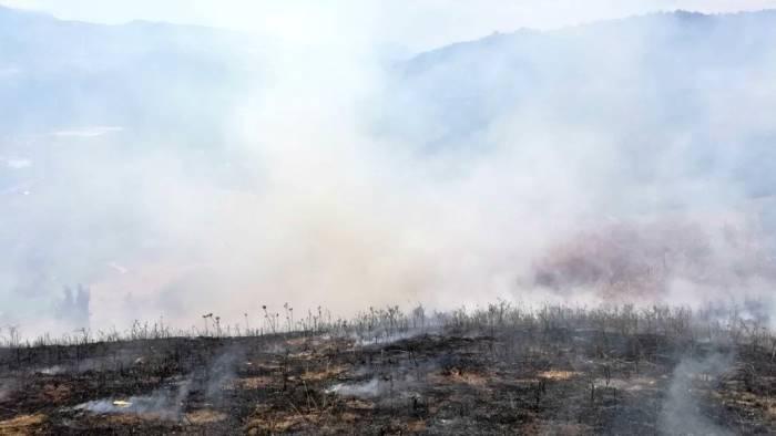 irpinia le nostre amate montagne bruciano ancora le foto