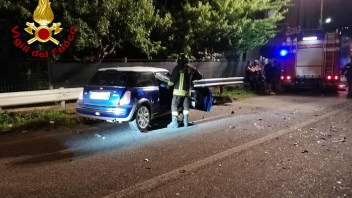 incidente mortale a montemiletto via accertamenti sui veicoli