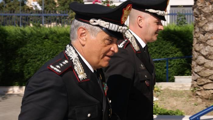 il generale di corpo d armata tomasone ad avellino