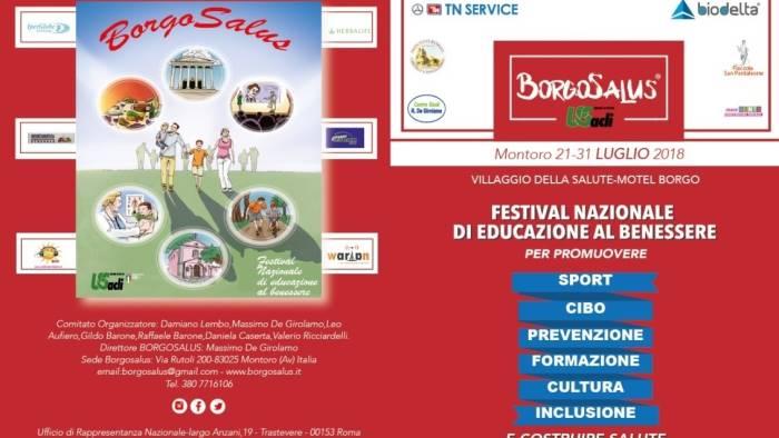 Al Via Il Festival Nazionale Di Educazione Al Benessere Ottopagine It Avellino