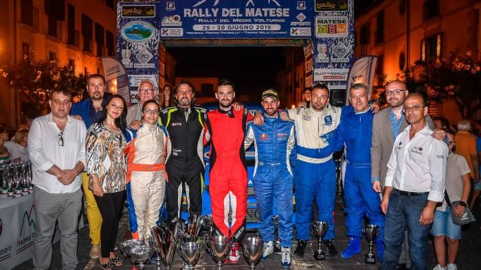 un podio di emozioni per la 7 edizione del rally del matese