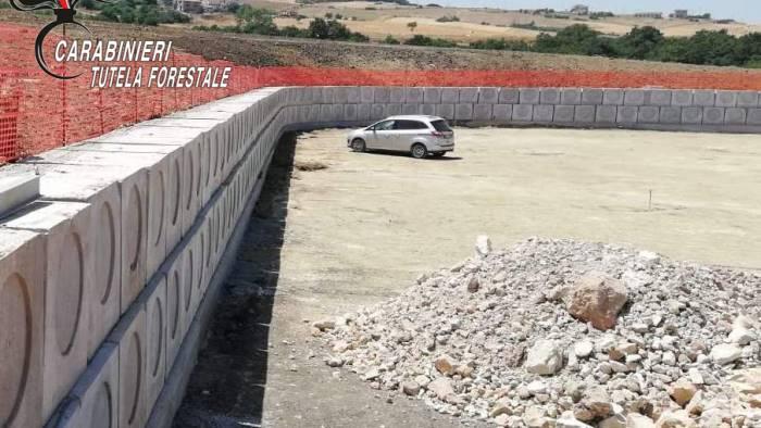 lavori di scavo non autorizzati 70enne denunciato