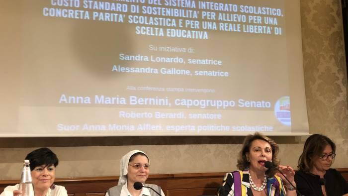 finanziamento integrato scolastico lonardo presenta ddl