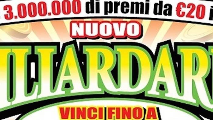 campania gratta e vince 500mila euro con il miliardario