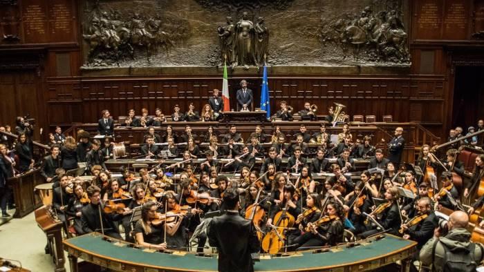 l orchestra scarlatti junior chiude le universiadi a napoli